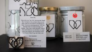 Branding voor mijn geheime cadeautjes project tijdens de weggeefmaand